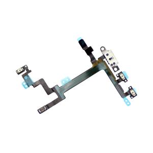 iPhone 5 Power On/off Flex Cable with Metal Plate iPhone > iPhone 5