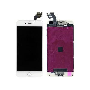 iPhone 6 Plus LCD Screen Full Assembly with Gold Ring - White iPhone > iPhone 6 Plus