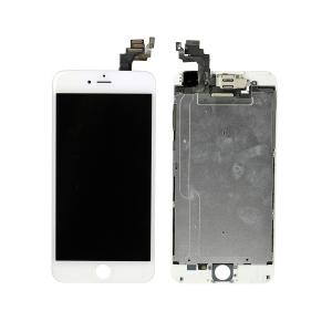 iPhone 6 Plus LCD Screen Full Assembly without Home Button - White iPhone > iPhone 6 Plus