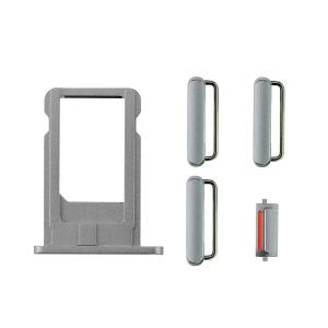 iPhone 6 Side Buttons Set with SIM Tray - Gray iPhone > iPhone 6