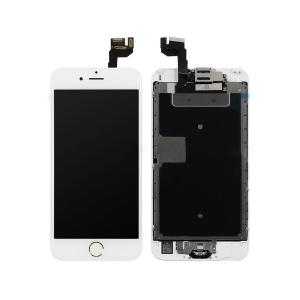 iPhone 6S LCD Screen Full Assembly with Gold Ring Home Button - White iPhone > Parts by Types > LCD Screen