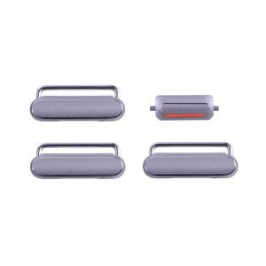 iPhone 6S Side Buttons Set - Grey iPhone > iPhone 6s