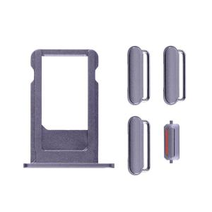 iPhone 6S Side Buttons Set with SIM Tray - Grey iPhone > iPhone 6s