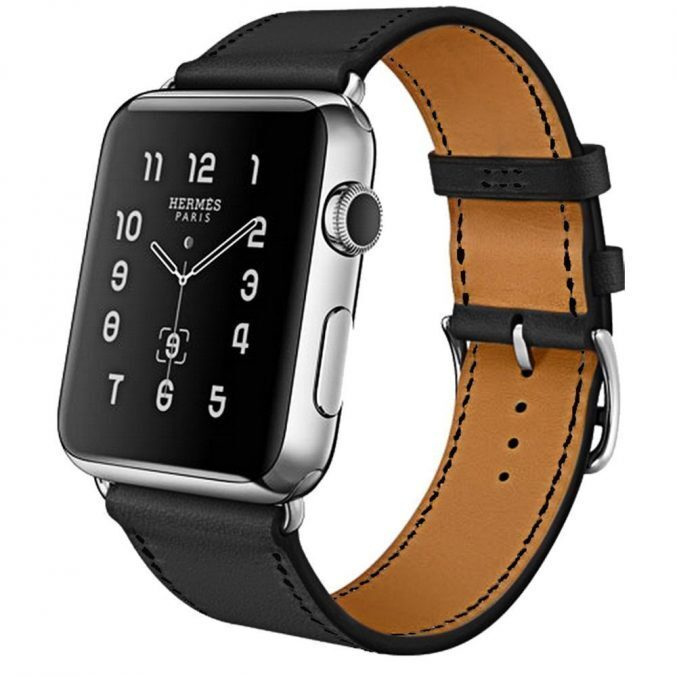 Lærreim for Apple Watch 42/44mm