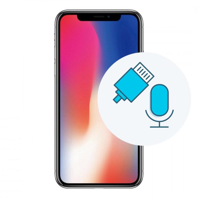 Bytte ladekontakt på iPhone X