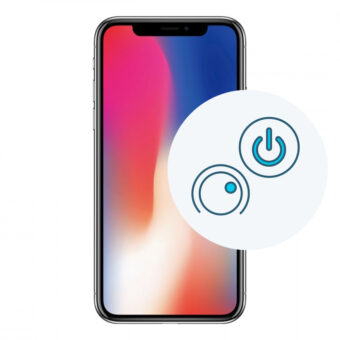 Bytte power modul på iPhone X