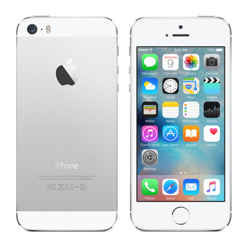 Bilde av Iphone 5s Sølv Med 16 Gb Lagring (litt Brukt)