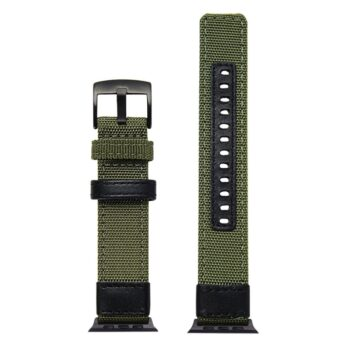 Røff nylon klokkereim for Apple Watch 42/44mm