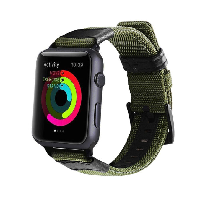 Røff nylon klokkereim for Apple Watch 38/40mm