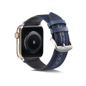 Denim klokkereim for Apple Watch 42/44mm
