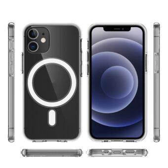 Klart deksel med MagSafe til iPhone 12 Mini