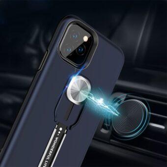 Deksel med fingerstropp for iPhone 12 / 12 Pro